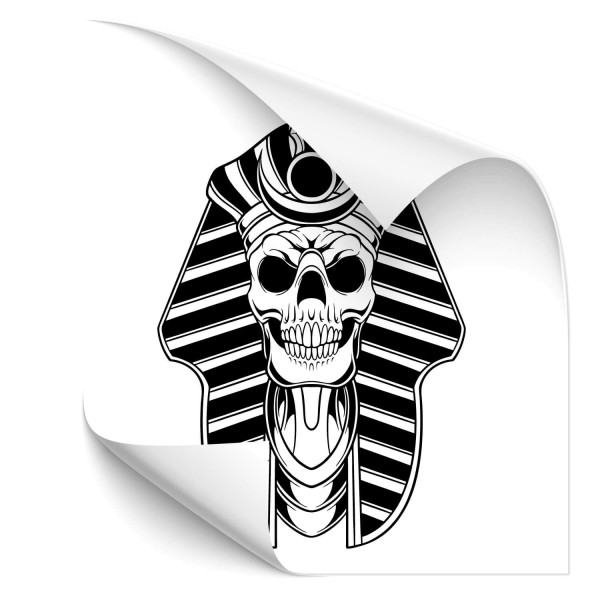 Totenkopf Pharao Fahrzeug Aufkleber - Kategorie Shop