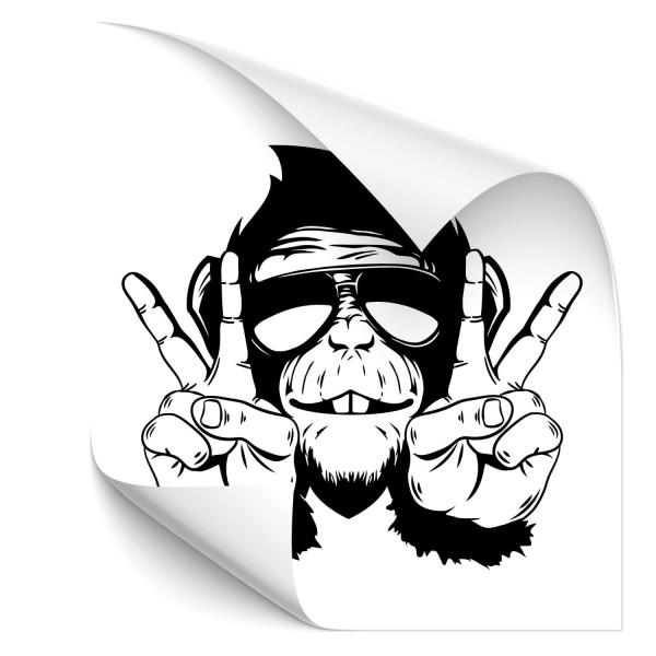 Schimpansen Kfz Tuning Sticker - Kategorie Shop