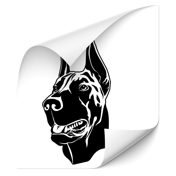 Dobermann Autotattoo - Kategorie Shop