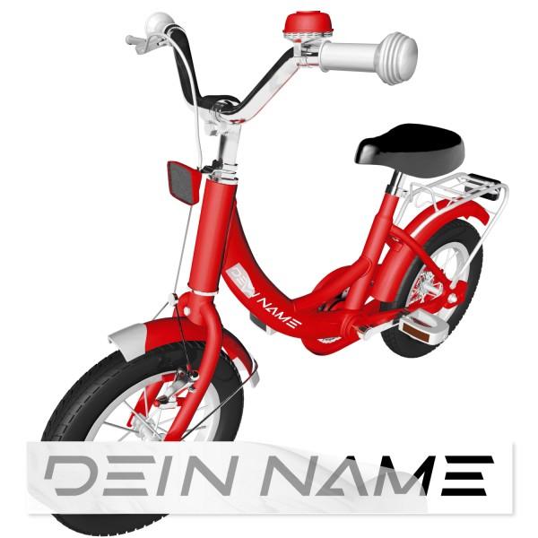 Namensaufkleber Kinderfahrrad Namensaufkleber für Kinderfahrräder - Kategorie Shop