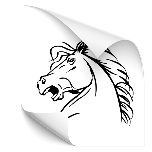 Mustang Car Tattoo - Kategorie Shop