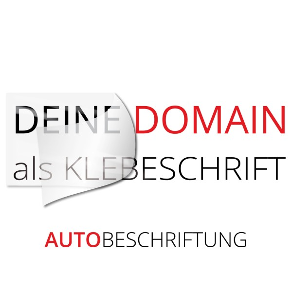 Domain Fahrzeugaufkleber - Kategorie Shop
