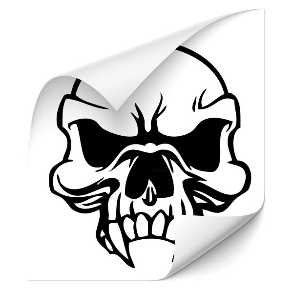 Totenkopf Fahrzeug Tattoo - Kategorie Shop