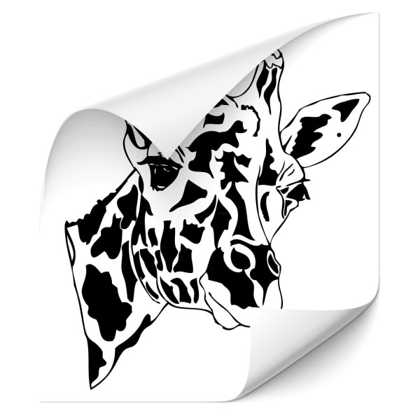Giraffe Car Aufkleber - Kategorie Shop