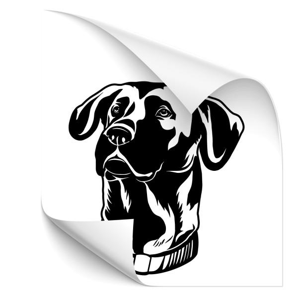 Deutsch Kurzhaar Hunde Autosticker - Kategorie Shop