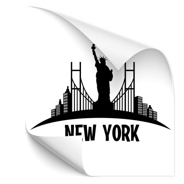 New York City Fahrzeug Tattoo - wandtattoo