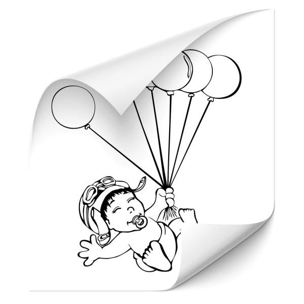 Kind mit Luftballon Car Tattoo - Kategorie Shop