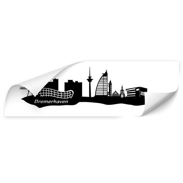 Bremerhaven Skyline Auto Sticker - Skyline