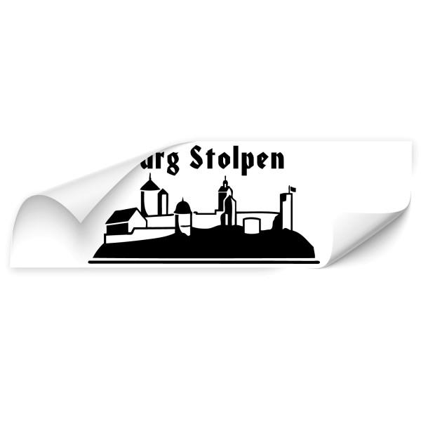 Burg Stolpen Autoaufkleber - Kategorie Shop