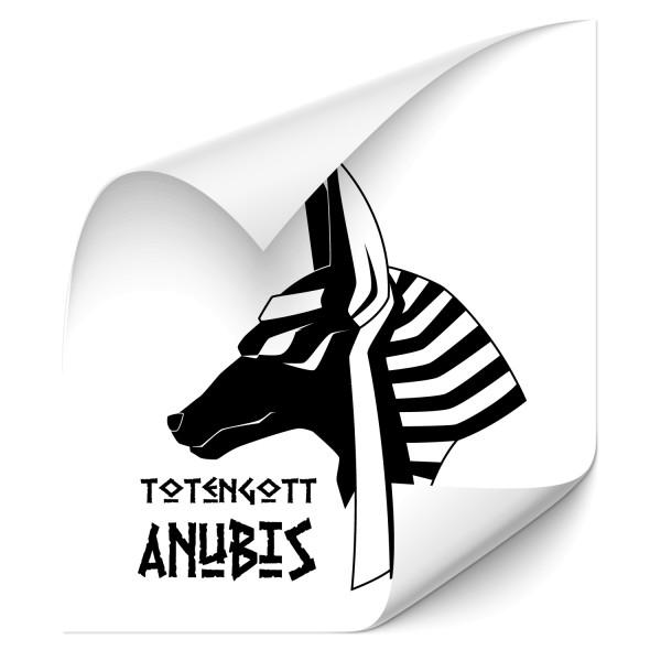 Totengott Anubis Auto Foliensticker - wandtattoo