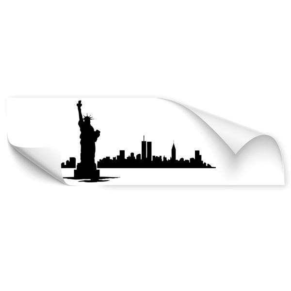 New York Stadt Car Art Sticker - Kategorie Shop