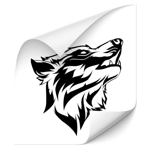 Wölfe Autotattoo - wolf