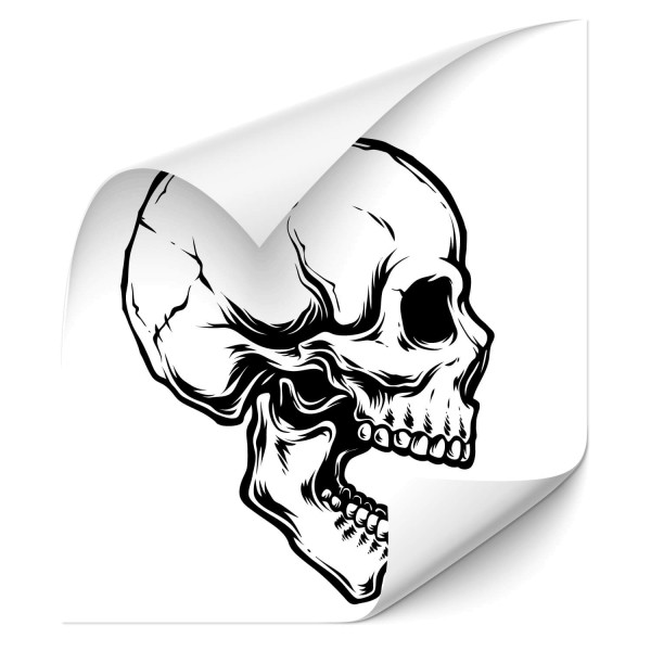 Totenkopf Outdoor Car Sticker - Kategorie Shop