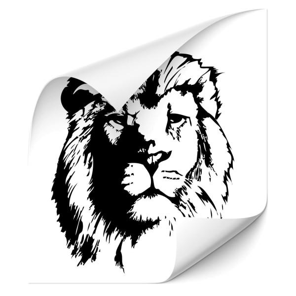 Löwen Autoaufkleber - Kategorie Shop