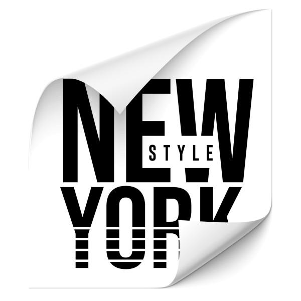 New York Style Fahrzeugsticker - wahrzeichen