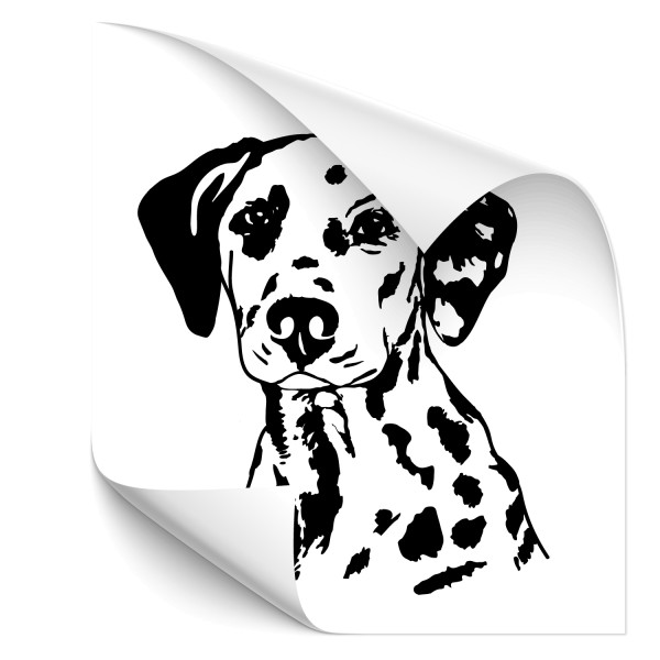 Dalmatiner Autoaufkleber - Kategorie Shop