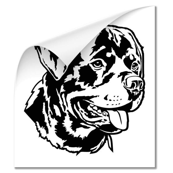 Rottweiler Fahrzeug Aufkleber - Hunde
