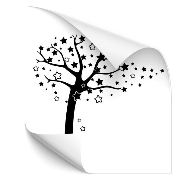 Baum mit Sternen - natur