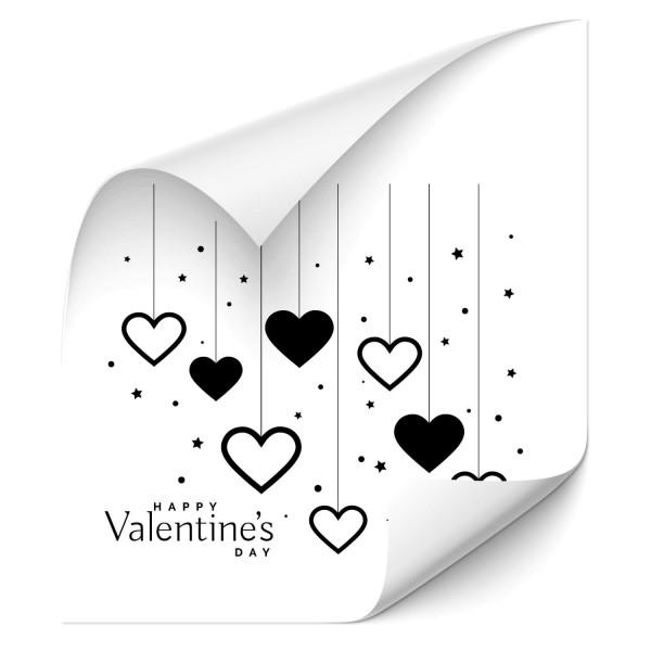Happy Valentine's Day - wandtattoo