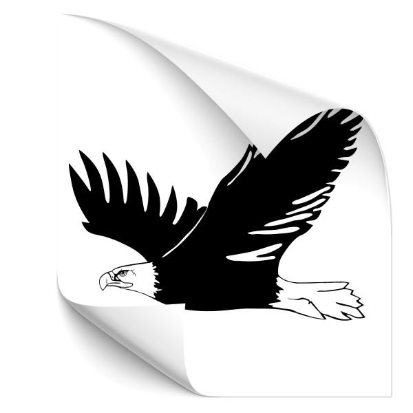 flying Eagle Auto Folienaufkleber - Adler & weitere Vögel