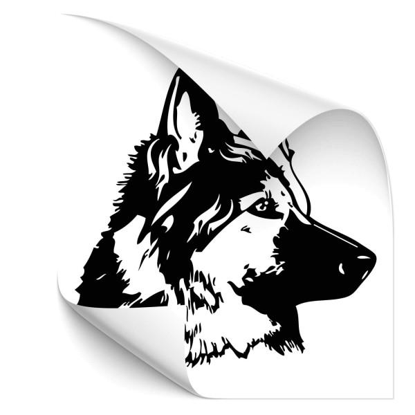 Deutscher Schäferhund Hunde Heckaufkleber - Hunde