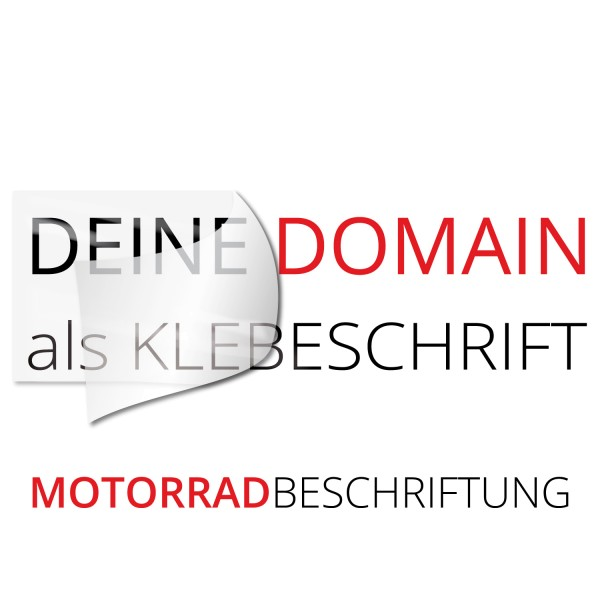 Domain Motorradaufkleber - Kategorie Shop