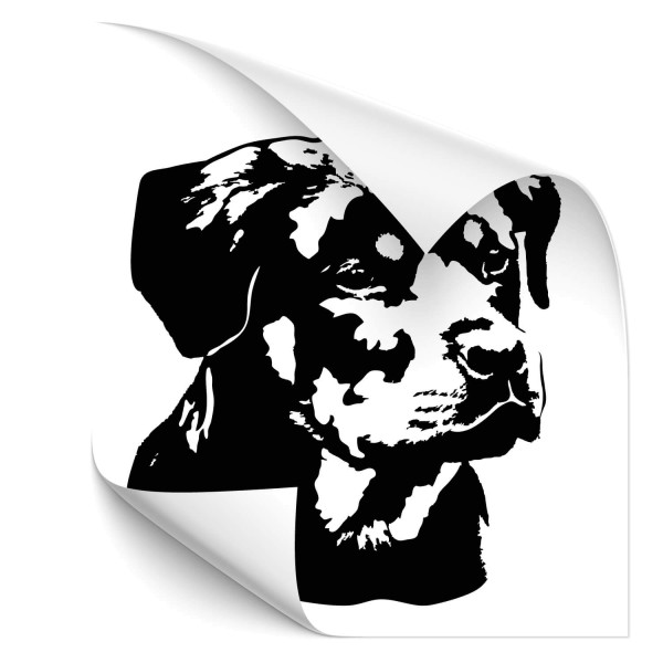 Rottweiler Heck Sticker - Hunde