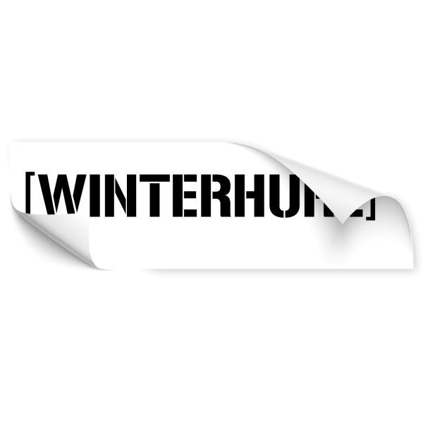 Winterhure Auto Heck Sticker - Kategorie Shop