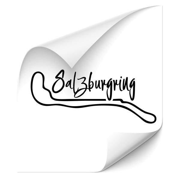 Rennstrecke - Salzburgring Kfz Folien Sticker - Kategorie Shop