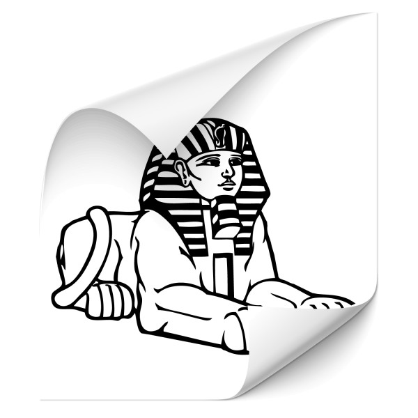 Sphinx Car Art Sticker - Kategorie Shop