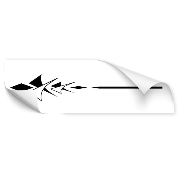 Tribal Pfeil Streifen Car Tattoo - Kategorie Shop
