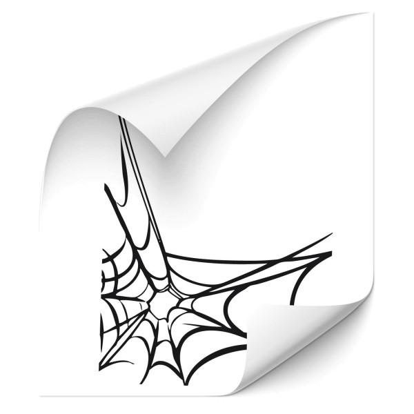 Spinnennetz Autoaufkleber - wildnis