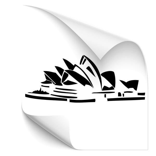 Opera House Sydney KFZ Tattoo - Kategorie Shop