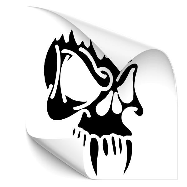 Skelettkopf Outdoor Car Tattoo - Kategorie Shop