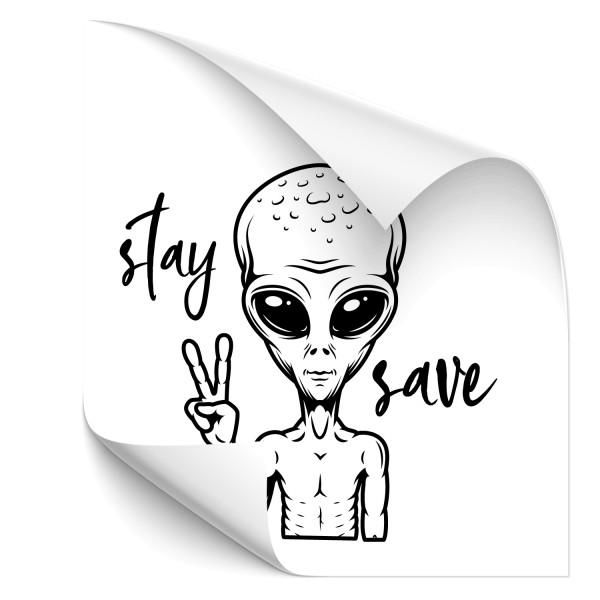 Alien Car Tuning Sticker - Kategorie Shop