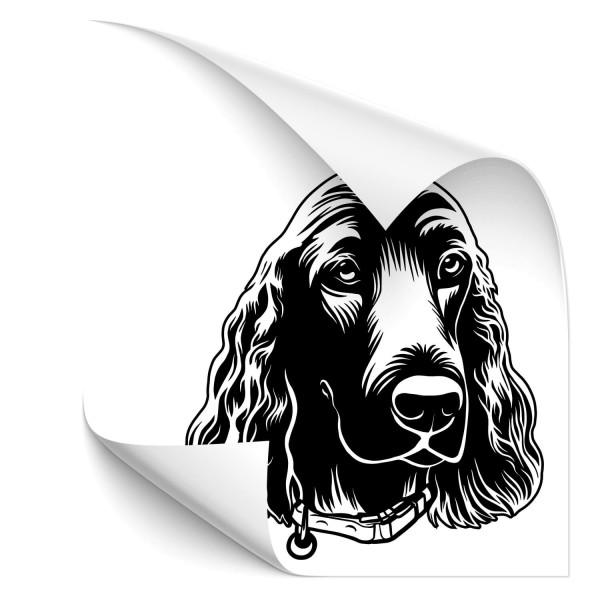 Cocker Spaniel Auto Hundeaufkleber - Kategorie Shop