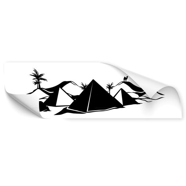 Sahara Skyline Stadt Car Art Sticker - Kategorie Shop