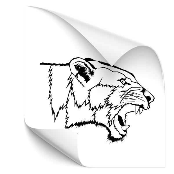 brüllende Löwin Car Tuning Aufkleber - Kategorie Shop