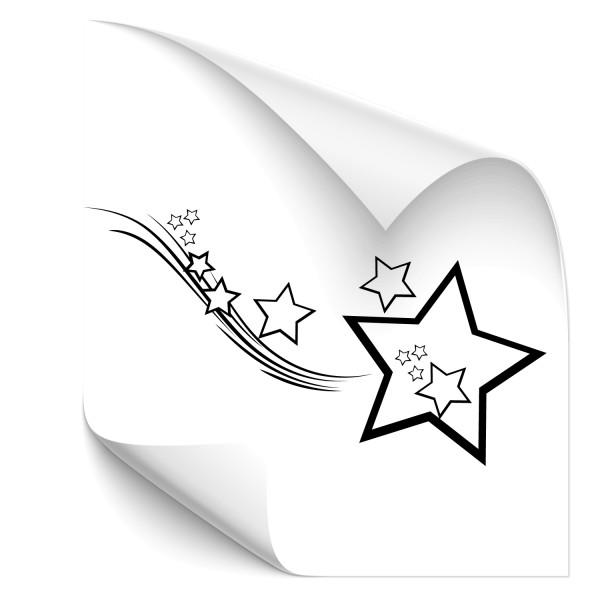 Sternenschweif Auto Aufkleber - Kategorie Shop
