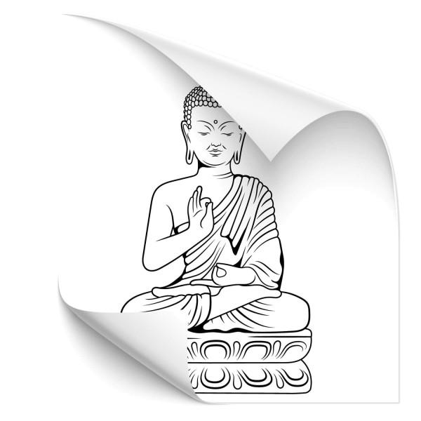 Buddha Fahrzeug Sticker - people