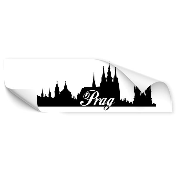 Prag Skyline Fahrzeug Aufkleber - Kategorie Shop
